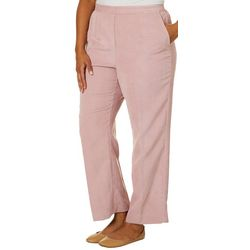 Alfred Dunner Plus Home For The Holidays Striped Pants