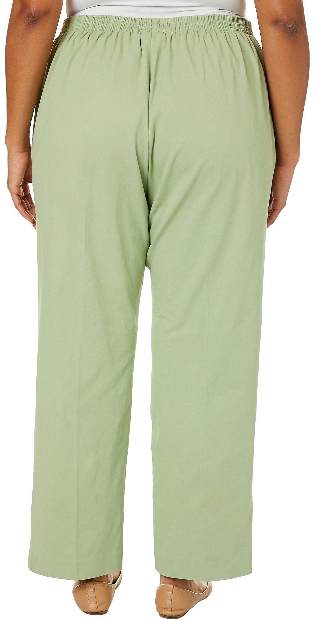 babd90b993a Alfred Dunner Plus Greenwich Hills Twill Proportioned Pants