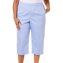 Alfred Dunner Plus Turtle Cove Classic Fit Capris
