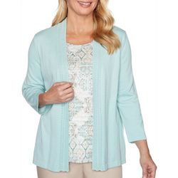 Alfred Dunner Plus Cottage Charm Duet Top