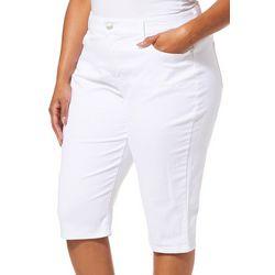 Gloria Vanderbilt Plus Comfort Curvy Skinny Skimmer Shorts