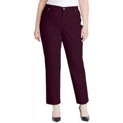 Gloria Vanderbilt Plus Amanda Solid Jeans