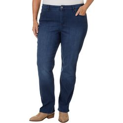 Gloria Vanderbilt Plus Willow Straight Jeans