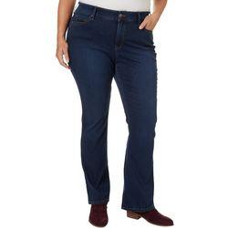 Gloria Vanderbilt Plus Hidden Comfort Curvy Bootcut Jeans