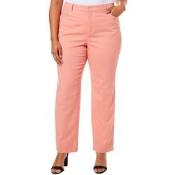 Gloria Vanderbilt Plus Amanda Solid Slim Fit Jeans
