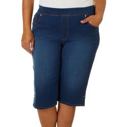 Gloria Vanderbilt Plus Avery Pull On Skimmer Shorts