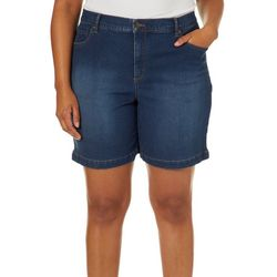 Gloria Vanderbilt Plus Amanda Denim Shorts