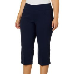 Ruby Road Favorites Plus Millenium Tech Solid Capris