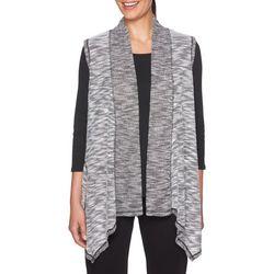 Ruby Road Favorites Plus Slub Knit Vest