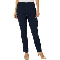 Ruby Road Favorites Plus Pull On Solid Stretch Tech Pants
