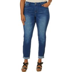 Hydraulic Plus Mid Rise Curvy Super Skinny Denim Jeans