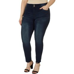 Hydraulic Plus Solid Curvy Super Skinny Jeans