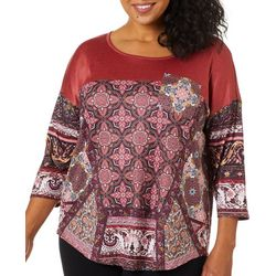Dept 222 Plus Sparkling Ceremony Chest Pocket Top
