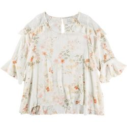 American Rag Plus Floral Top