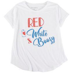 Ana Cabana Plus Red White & Boozy T-Shirt