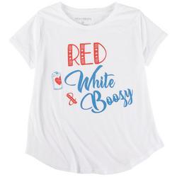 Plus Red White & Boozy T-Shirt