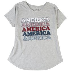 Ana Cabana Plus Americana Basic T-Shirt