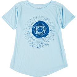 Stunner Plus Sun & Moon Round Neck T-Shirt