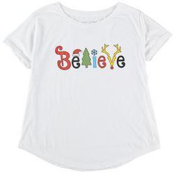 Ana Cabana Plus Believe Festive T-Shirt