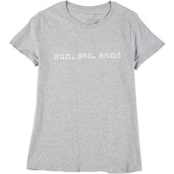 Ana Cabana Plus Sun Sea Sand Round Neck