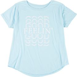Ana Cabana Plus Feelin' Good Round Neck T-Shirt