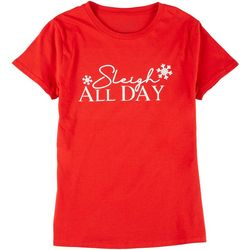 Ana Cabana Plus Sleigh All Day Round Neck T-Shirt
