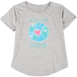 Ana Cabana Womens Plus Respect Earth T-Shirt