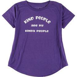 Ana Cabana Womens Plus My Kind Of People T-Shirt