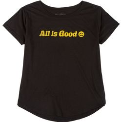 Ana Cabana Womens Plus All Is Good T-Shirt