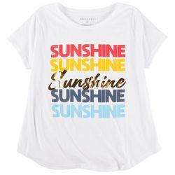 Ana Cabana Plus Sunshine Short Sleeve Top