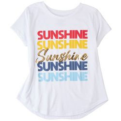 Ana Cabana Plus Sunshine Screen Print T-Shirt