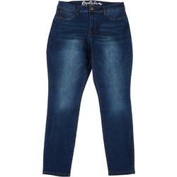Plus Hi-Rise Denim Skinny Jeans