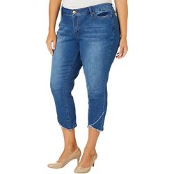 Royalty by YMI Plus Asymmetrical Hem Ankle Jeans