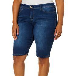Royalty by YMI Plus Perfect Tummy Bemuda Shorts