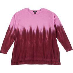 Jessica Simpson Plus Tie Dye Ombre Sweater