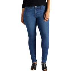 Lee Plus Solid Sculpting Skinny Jeans