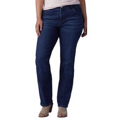 Lee Plus Whiskering Flex Motion Jeans