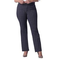 Lee Plus Flex Motion Pin Stripe Pants