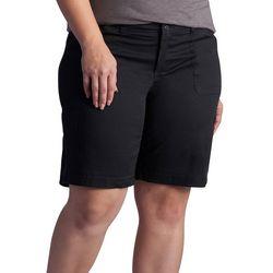 Lee Plus Avery Comfort Waist Cargo Bermuda Shorts