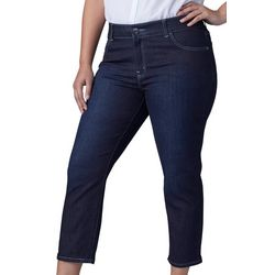 Lee Plus Solid Denim Capris