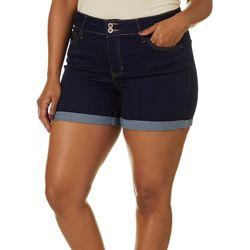Hydraullic Plus Curvy Midi Shorts