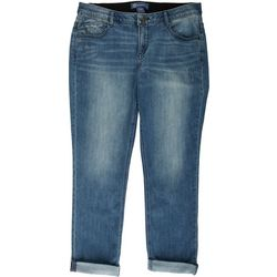 Democracy Plus Ab-Solution Cuffed Girlfriend Jeans