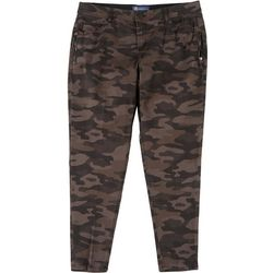 Democracy Plus Ab-Solution Cropped Mid-Rise Camo Jeans