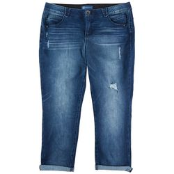 Democracy Plus Womens Jeans With Cuff