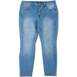 D. Jeans Plus High Waist Ankle Denim Jeans