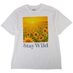 Bittersweet Womens Solid Short Sleeve Shirt Weekend Vibes