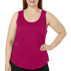 Dept 222 Plus Scoop Neck Luxey Tank Top