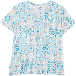 Dept 222 Plus Mosaic V-Neck T-Shirt