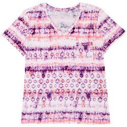 Dept 222 Plus Luxey Tie Dye T-Shirt