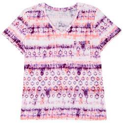 Plus Luxey Tie Dye T-Shirt